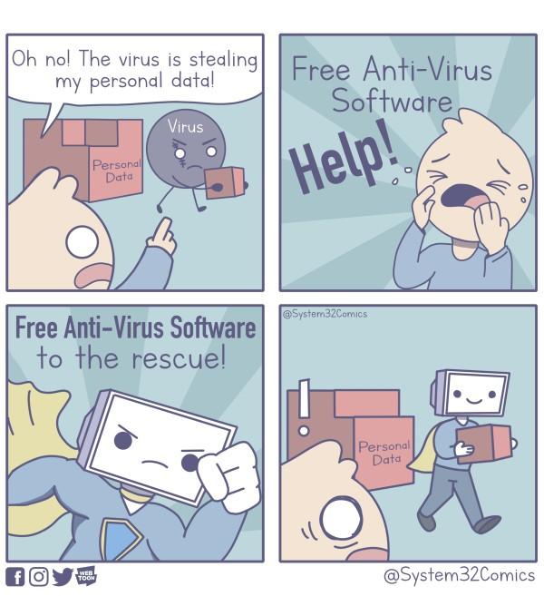 Quando l'antivirus ti spia: Il caso AVAST FREE ANTIVIRUS